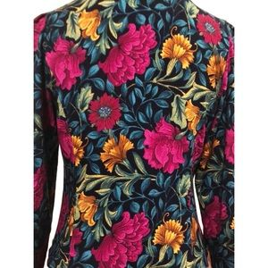Lady Carol of New York Tops - Lady Carol | Vintage 80's Floral Blouse